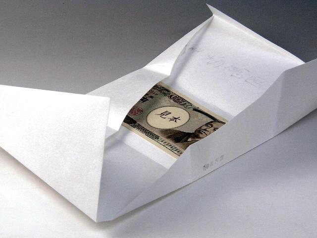 封筒 お札 の 向き